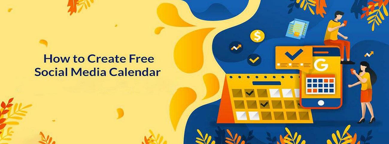 ¿Cómo crear un calendario gratuito de redes sociales?