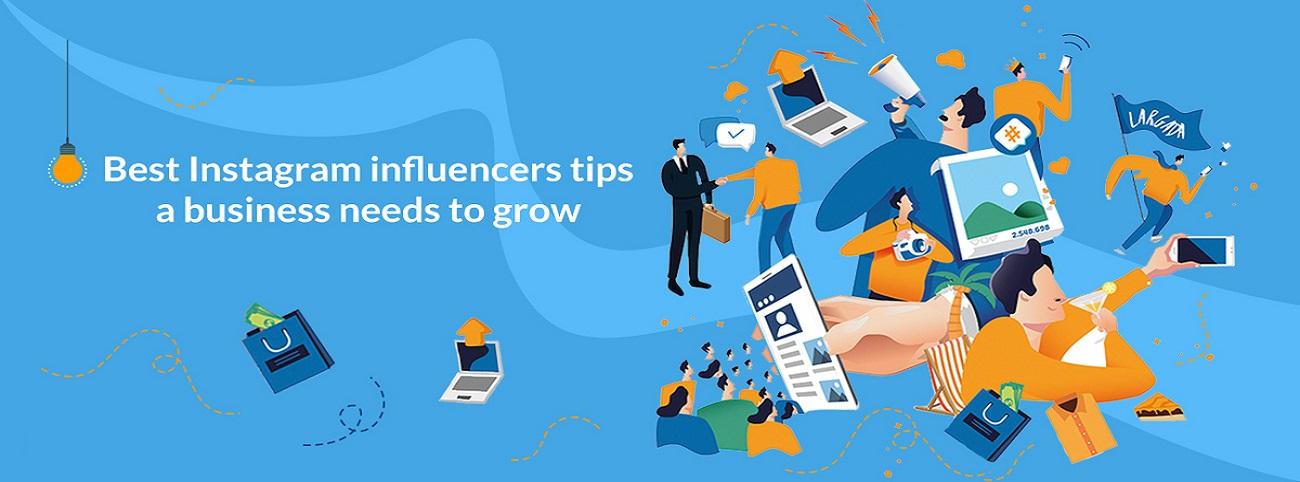 Los mejores consejos de influenciadores de Instagram, una empresa necesita crecer