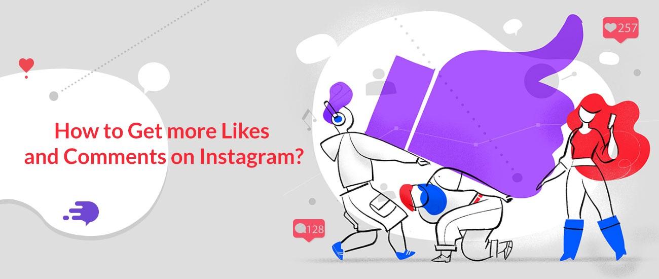Cómo obtener más me gusta y comentarios de Instagram