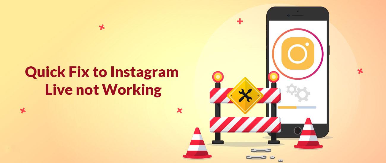Solución rápida para Instagram Live no funciona