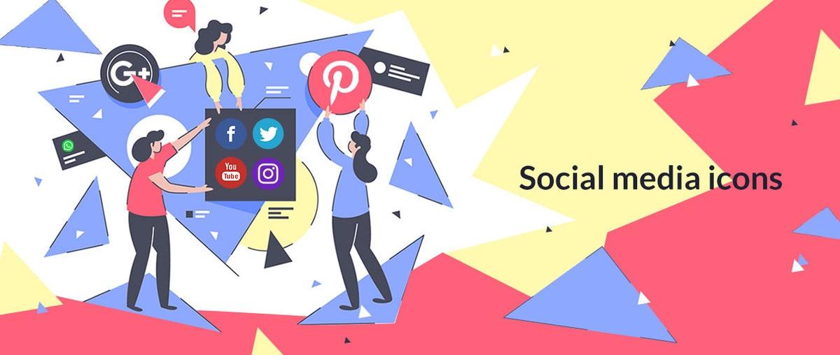 ¿Cómo descargar y agregar íconos de redes sociales?
