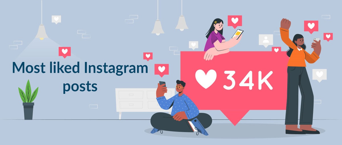 Publicaciones de Instagram con más me gusta