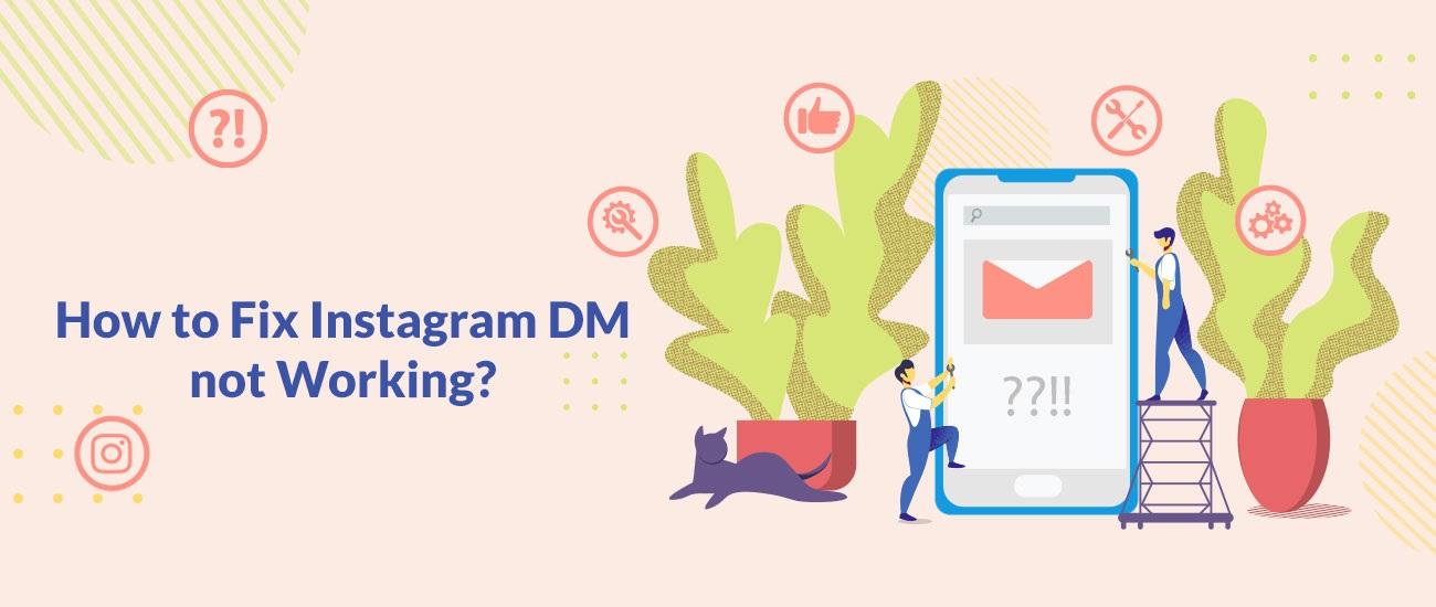 ¿Cómo arreglar Instagram DM no funciona?