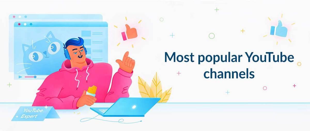Canales de YouTube más populares